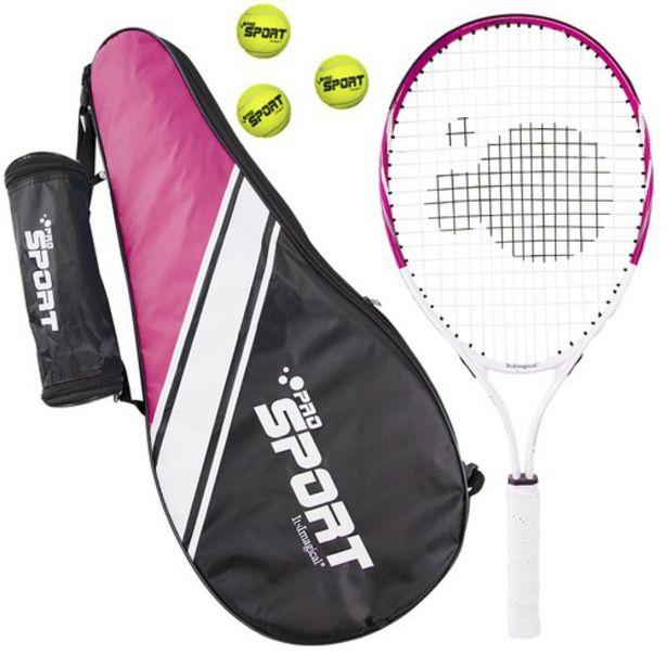 Oferta de Raquetas de tenis para niños de color rosa por 12,95€