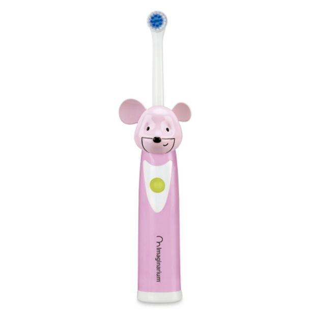Oferta de Cepillo de dientes eléctrico para niños color rosa por 9,95€