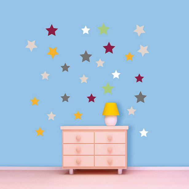 Oferta de Pegatinas decorativas de estrellas por 3,95€