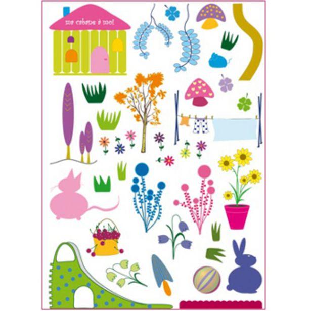 Oferta de Adhesivos decoración de jardín por 8,95€