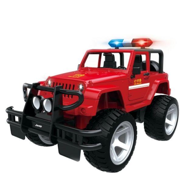 Oferta de Jeep de rescate de incendios por radiocontrol por 49,95€