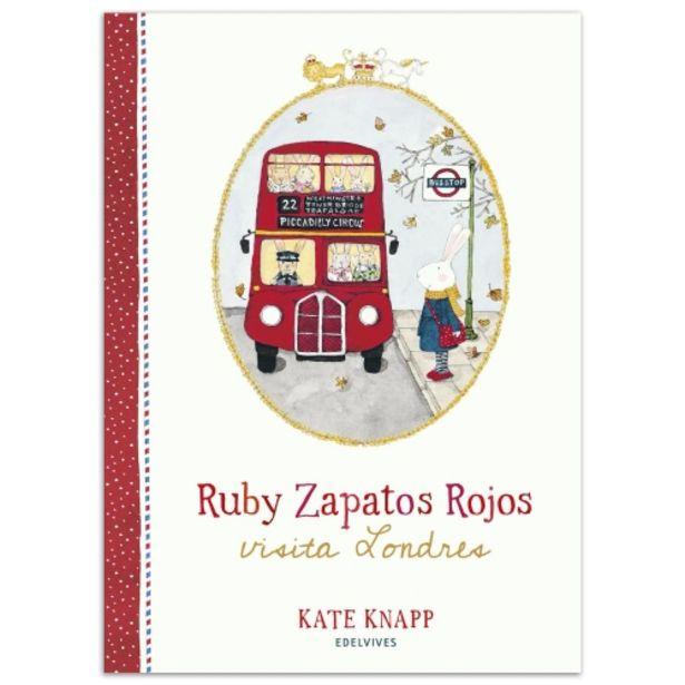 Oferta de Libro Ruby zapatos rojos visita Londres por 11€