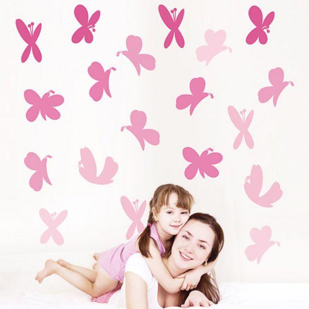 Oferta de Pegatinas decorativas de mariposas por 3,95€