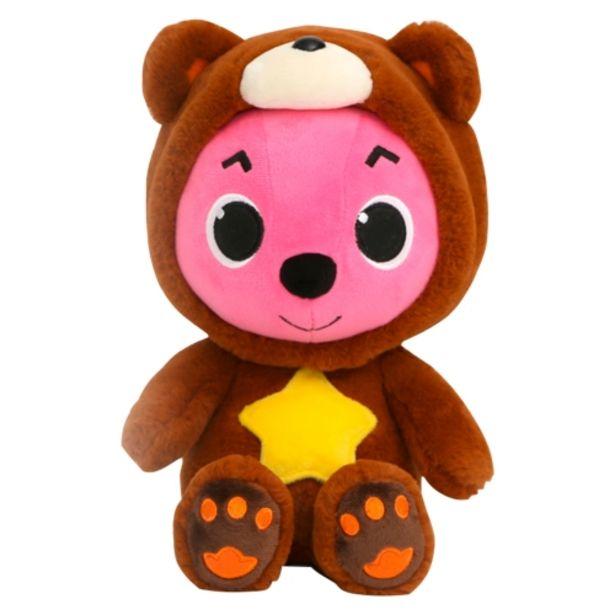 Oferta de Peluche de Pinkfong con capucha de oso por 11,95€