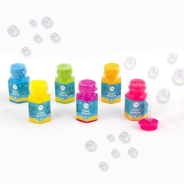 Oferta de Botellitas de burbujas de jabón por 3,95€