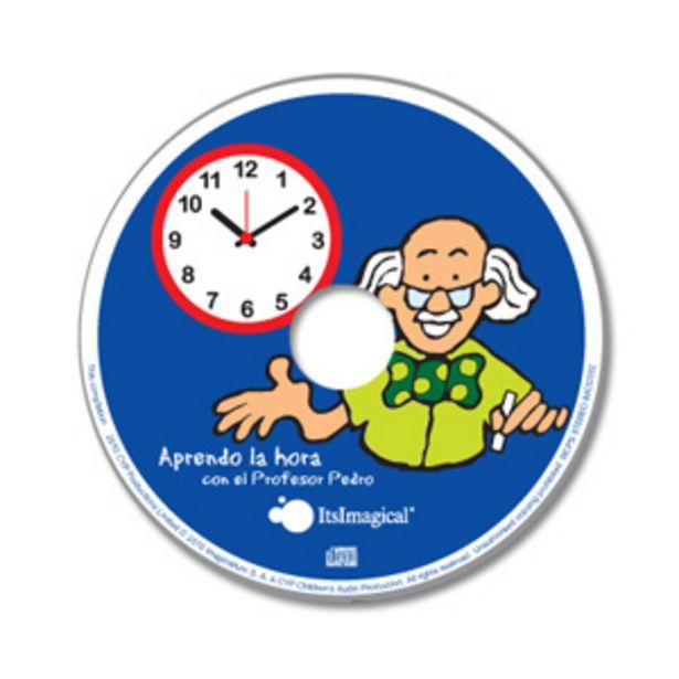 Oferta de CD educativo aprender la hora por 3,95€