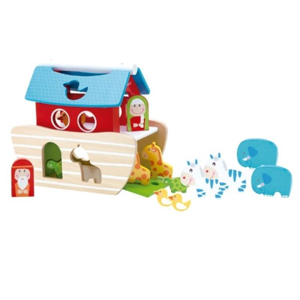 Oferta de Encajable de madera del Arca de Noé por 19,95€