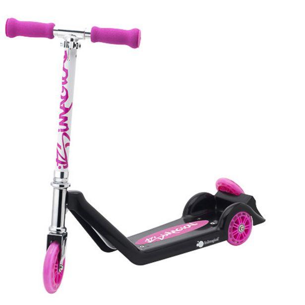 Oferta de Patinete de tres ruedas rosa por 49,95€