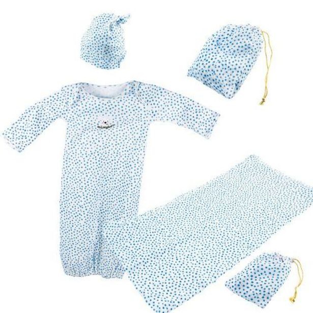 Oferta de Set primera puesta para bebé de color azul por 19,95€