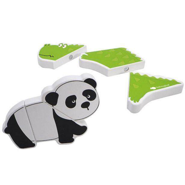 Oferta de Puzzle de madera magnético de animales por 9,95€