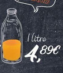 Oferta de Zumo de naranja por 4,89€