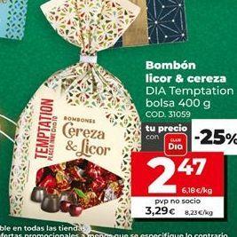 Oferta de Bombones Dia por 2,47€