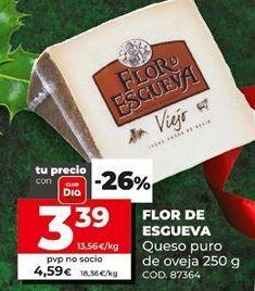 Oferta de Queso de oveja Flor de Esgueva por 3,39€