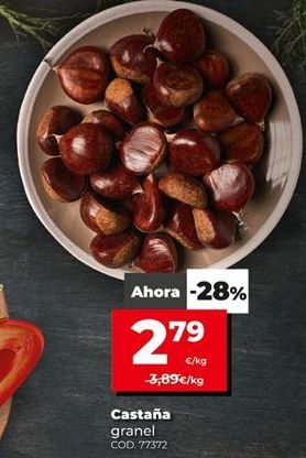 Oferta de Castañas por 2,79€