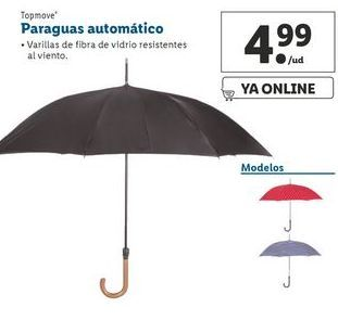 Oferta de Paraguas automático  Top Move por 4,99€
