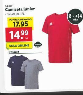 Oferta de Camiseta Junior Adidas por 14,99€