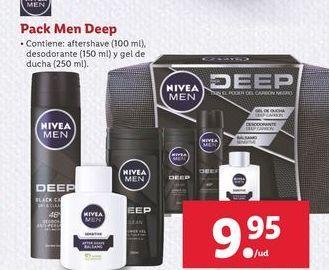 Oferta de Pack Men Deep Nivea por 9,95€