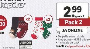 Oferta de Calcetines esmara por 2,99€