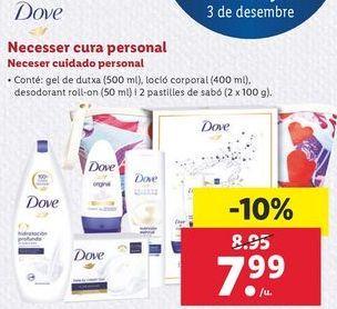 Oferta de Neceser cuidado personal Dove por 7,99€