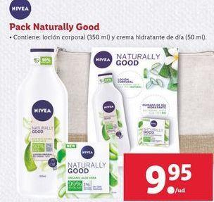 Oferta de Pack natyrally good Nivea por 9,95€