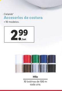 Oferta de Accesorios de costuracrelando por 2,99€