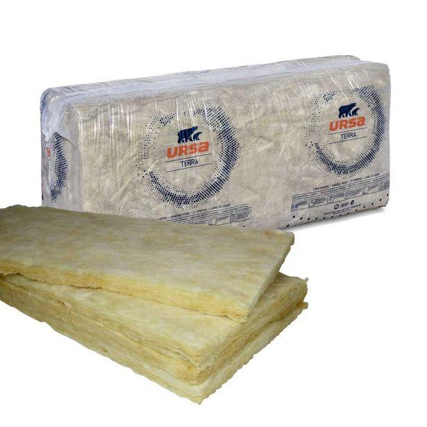 Oferta de PACK 15 PANELES DE LANA MINERAL TERRA BASE 135 x 60 x 5 cm - 16,5 kg por 1,75€