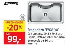 Oferta de Fregadero smeg por 99€