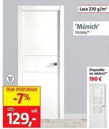 Oferta de Puertas por 129€