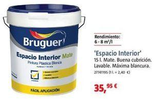 Oferta de Pintura mate industrial Bruguer por 35,95€