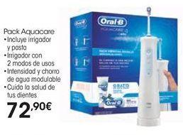 Oferta de Pack Aquacare Oral B por 72,9€