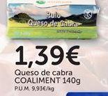 Oferta de Queso de cabra coaliment por 1,39€