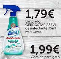 Oferta de Limpiadores Gerpostar asevi por 1,79€