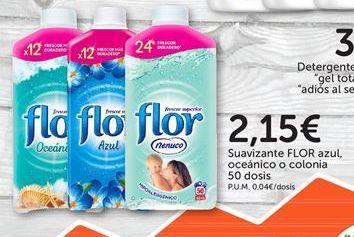 Oferta de Suavizante Flor por 2,15€