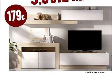 Oferta de Muebles de salón por 179€