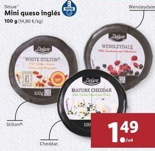Oferta de Mini queso ingles  por 1,49€