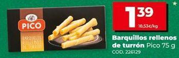 Oferta de Barquillos Pico por 1,39€