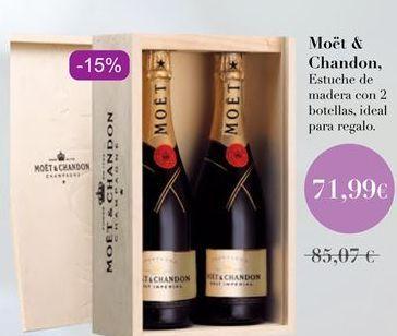 Oferta de Moët & Chandon por 71,99€