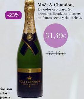 Oferta de Moët & Chandon por 51,49€