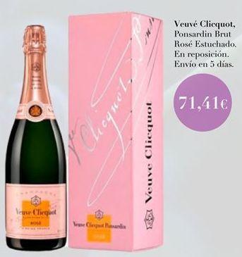 Oferta de Veuvé Cliquot  por 71,41€