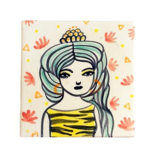 Oferta de Azulejo pequeño diosa Freya por 33€