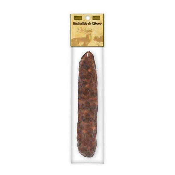 Oferta de Salchichón Cular de Ciervo envasado al vacío - 300 g por 16€