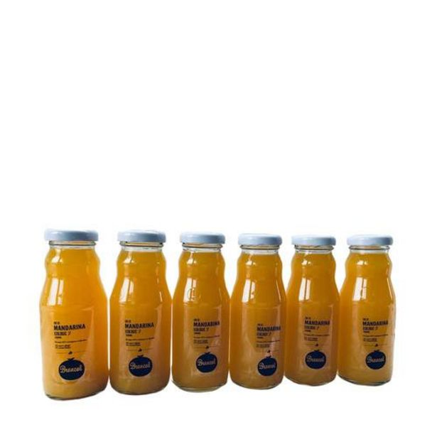 Oferta de Zumo ecológico de mandarina - 6x200 ml por 15€