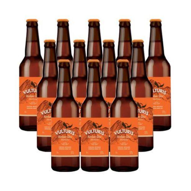 Oferta de Cerveza Amber Sky - Caja 12x33 cl por 29€