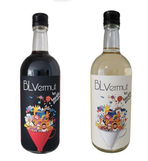 Oferta de Pack 2 botellas vermut rojo y blanco por 29,9€