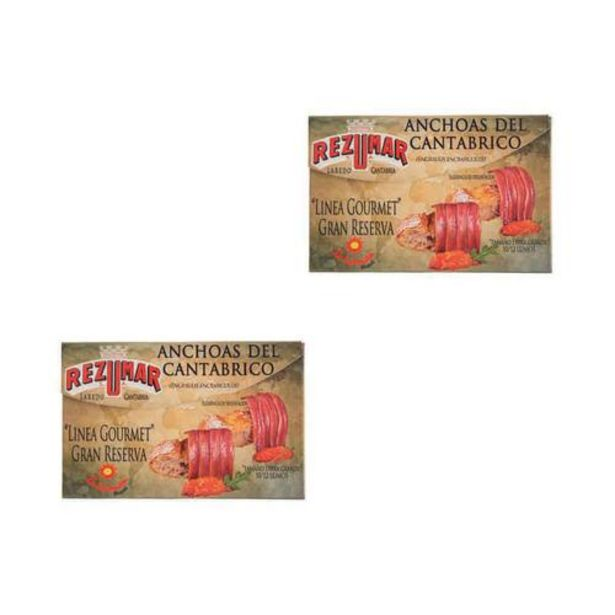Oferta de Anchoas GOURMET en Girasol - 2x120 gr por 42€