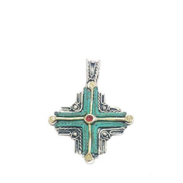 Oferta de Cruz Etrusca Plata y Bronce por 11300€