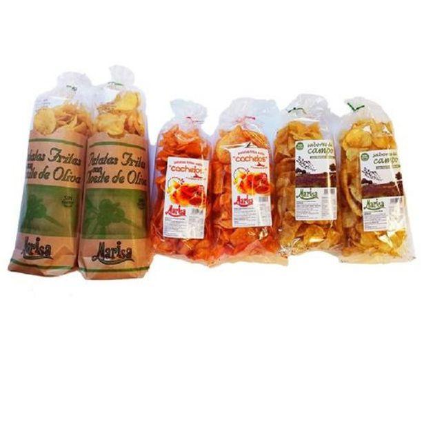 Oferta de Lote Patatas Fritas - 2 Oliva + 2 Cachelo + 2 Hierbas por 18,5€