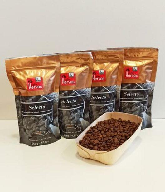 Oferta de Café tueste natural, en grano, 4 paquetes de 250g por 15€