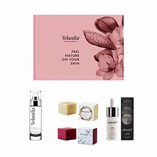 Oferta de Caja Vegana de Cosmética Natural - Face Cream Bio 50ml + Sérum Woman 30ml + Jabón Artesanal + Jabón Exfoliante Facial por 66,45€