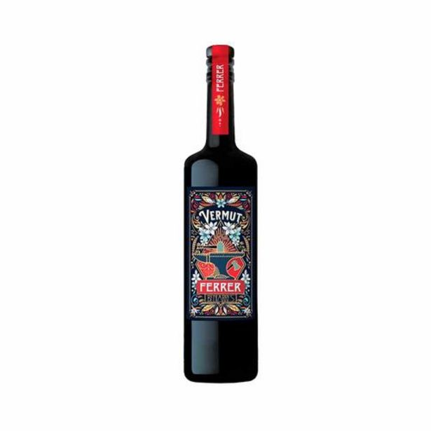 Oferta de Botella Vermut Ferrer - 75 cl por 21€